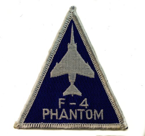 Us Air Force F4 Phantom Iron or Sew on Embroidered Patch D4