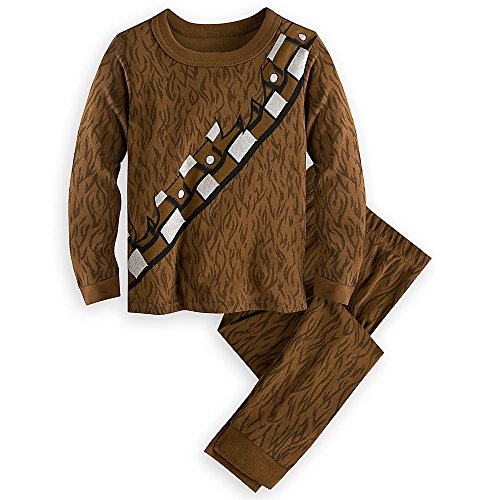 Star Wars Chewbacca Costume PJ PALS Pajamas for Kids Size 7 -
