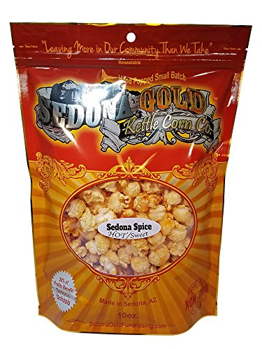 hot and sweet popcorn - 1