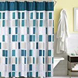 LanMeng Elegance Luxury Bathroom Shower Curtain Waterproof and Mildewproof Polyester Fabric (72-by-72 inches, 7)