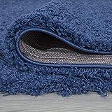 Ottomanson Cozy Color Solid Shag Contemporary