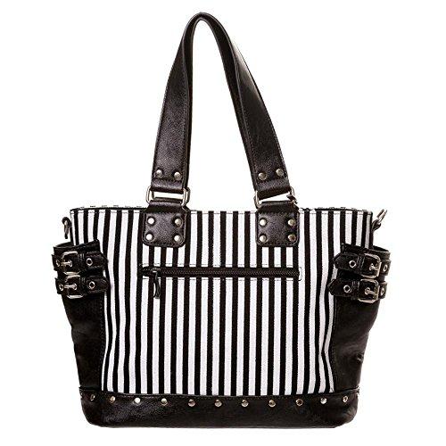 White Bag Black Women's size standard Shoulder Black Banned qvEXO