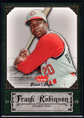 Baseball MLB 2006 Fleer Greats of the Game #36 Frank Robinson Reds