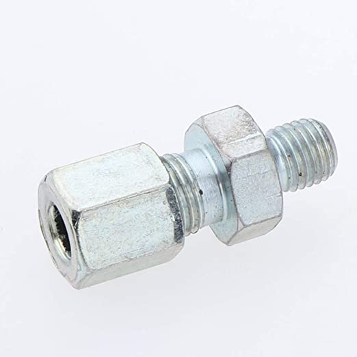 aa5dfb276 Flameer Grease Fitting, 90Deg / Straight, M10/M8/M6, Fit for 6mm Pipe -  Straight M10xM8 - - Amazon.com