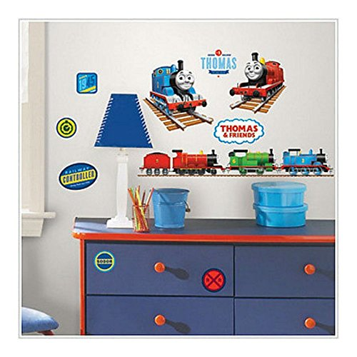 THOMAS THE TANK ENGINE wall stickers 33 decals trains roo...
