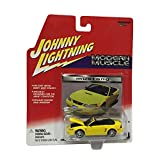 Johnny Lightning Modern Muscle Mustang 1:64 Scale Yellow Diecast Car Replica