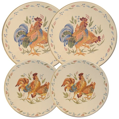 Corelle Coordinated Burner Covers, Country (Corelle Burner Covers)