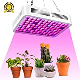 led Grow Lights for Indoor Plants,CXhome 300W led Grow Lights Full Spectrum Plant lamp IR & UV Growing Light with Double Chips Daisy Chain for Indoor Hydroponics Greenhouse Seedling Flowers