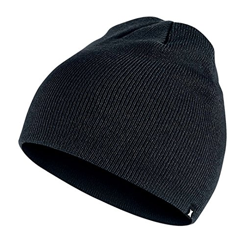 Beanie Mens Casual Hats - Hurley One and Only Beanie - Black
