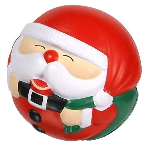 - GEN Santa Claus Ball - Christmas Squeezie Stress Ball