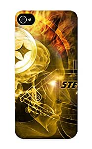 Case For Iphone 5/5s Tpu Phone Case Cover(pisburg Steelers Nfl Footballeg ) For Thanksgiving Day's Gift