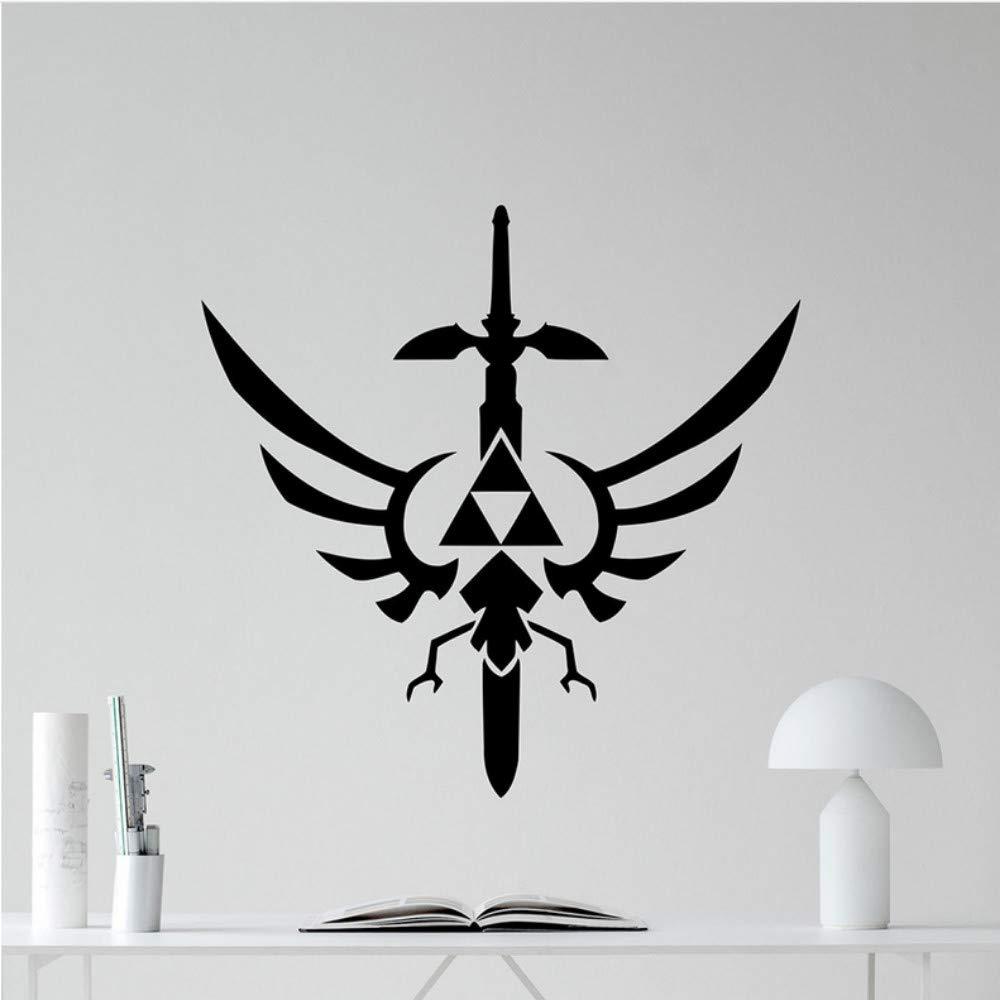 Mrhxly Legend Of Zelda Tatuajes De Pared Símbolo Trifuerza ...