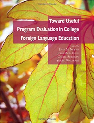 Cover of the book Toward useful program evaluation in college foreign language education