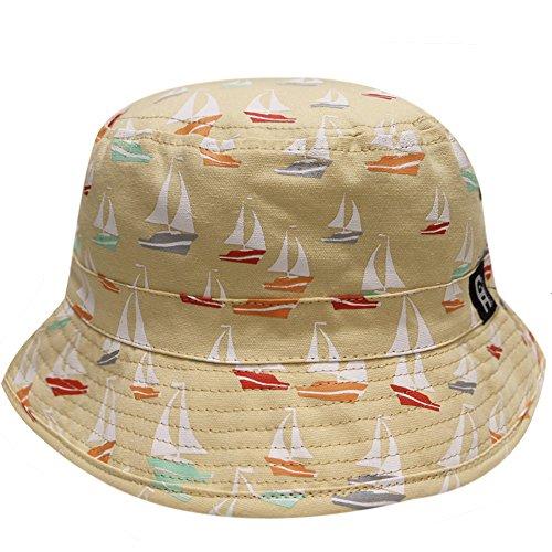 City Hunter Pacific Ocean Bucket Hats  Bd1170   Khaki