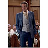 Beautiful Creatures Jeremy Irons as Macon Ravenwood standing in church 8 x 10 Inch Photo
