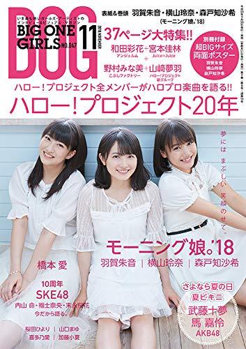 BIG ONE GIRLS 2018年11月号 最新号 表紙画像