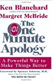 The One Minute Apology, Ken Blanchard and Margret McBride, 0688169813