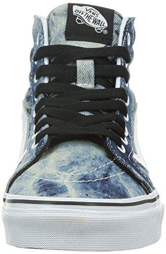 Vans U Sk8-Hi, Zapatillas Altas Unisex Adulto Azul (Dark Blue/white)