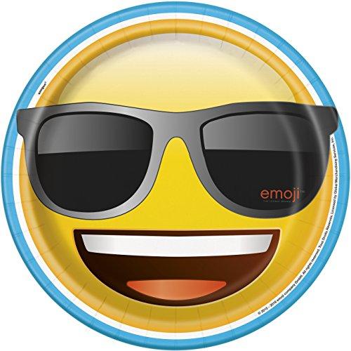 Emoji Dinner Plates, 8ct -