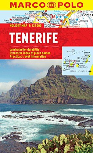 Tenerife Marco Polo Holiday Map (Marco Polo Holiday Maps)