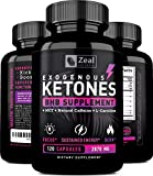 Exogenous Ketones BHB Keto Pills (2870mg | 120 Capsules) Keto Diet Pills w. MCT Oil, BHB Salts Beta Hydroxybutyrate, Natural Caffeine – Keto Supplement for Keto Weight Loss – Keto Diet from Shark Tank For Sale