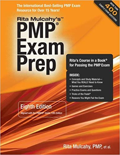 By rita mulcahy pmp exam prep accelerated learning to pass pmis by rita mulcahy pmp exam prep accelerated learning to pass pmis pmp exam 8 papcdr 51613 rita mulcahy 8601200913774 amazon books fandeluxe Image collections