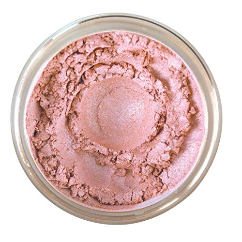 Bella Terra – Mineral Bronzer Tanning Contour Powder for Face Body Long Wearing Rose Petal