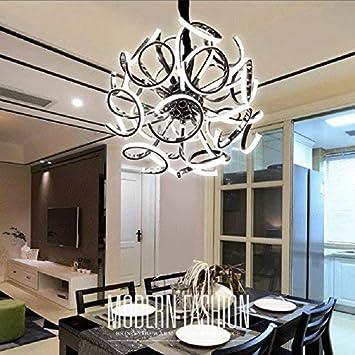 TRNMC Lámparas de iluminación LED, Moderna, Minimalista, Arts Bdesigner Villa Hotel Lounge Lámpara