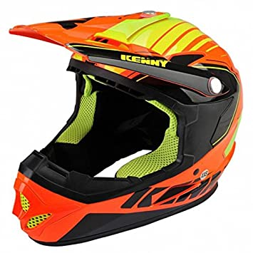 Casco Kenny Rocket Color Naranja Fluorescente, naranja fluorescente