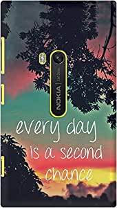 DailyObjects Every Day Is A Second Chance Case For Nokia Lumia 920