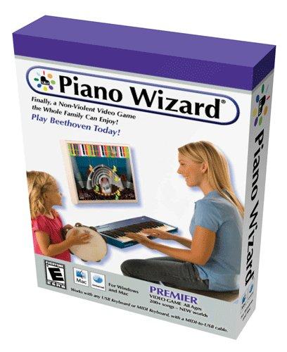 Piano Wizard PREMIER Piano Instruction Software