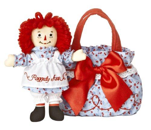 Aurora World Raggedy Ann Fancy Pal Purse with Scrunchy