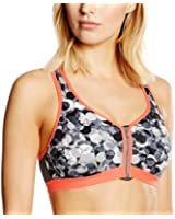 Shock Absorber Women's Active Zipped Plunge Sports Bra