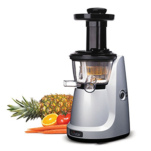 Slowstar Masticating Juicer : Fruitstar (Fs-610-b) vertical Slow Masticating Juicer for - Import It All