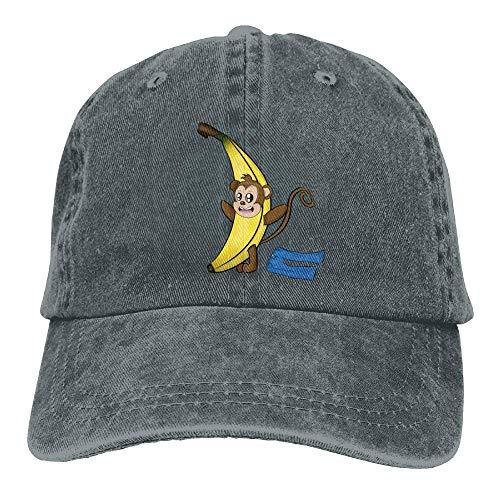 KLING Sombrero del Dril de algodón del Banano del Mono Gorras de ...