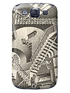LarryToliver Design samsung Galaxy s3 Print Case With Hard Shell Cover for Customizable Escher pictures #1