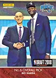 #7: 2018-19 Panini Instant NBA Draft Night #DN6 Mo Bamba Basketball Card - Only 301 made!