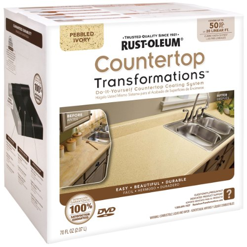 Rust Oleum Countertop Transformations Pebbled Ivory