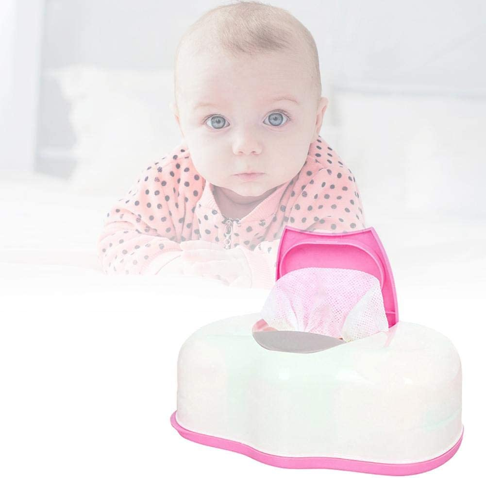 Baby Wipes Dispenser Portable Sealed Wipes Moist Keeping Wet Wipes Holder Case Reusable