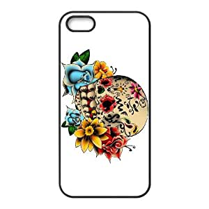iPhone 4 4s Cell Phone Case Black Sugar Skull Cover lsq