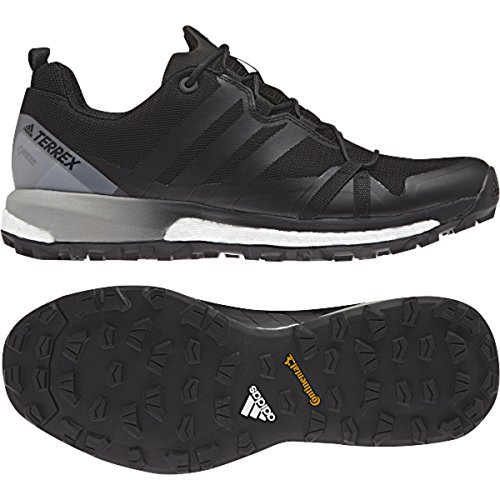 adidas Terrex Agravic GTX Shoe Women's Trail Running 7.5 Black-White by adidas