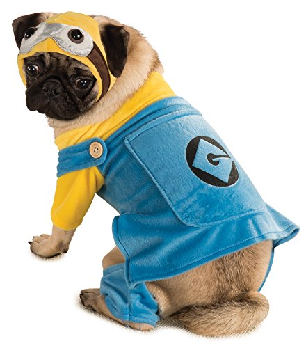 UHC Minion Outfit Funny Theme Fancy Dress Puppy Halloween Pet Dog Costume, M