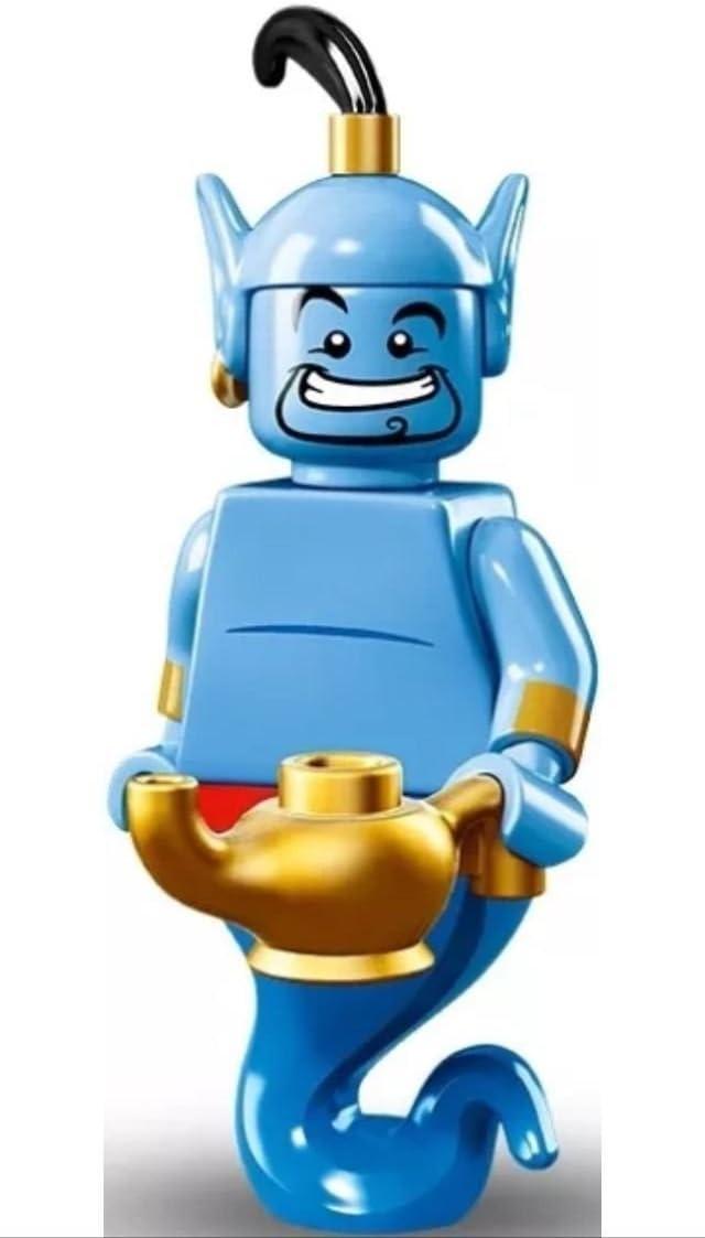 Lego Disney serie 16, figuras pequeñas para coleccionar - Genio de ...