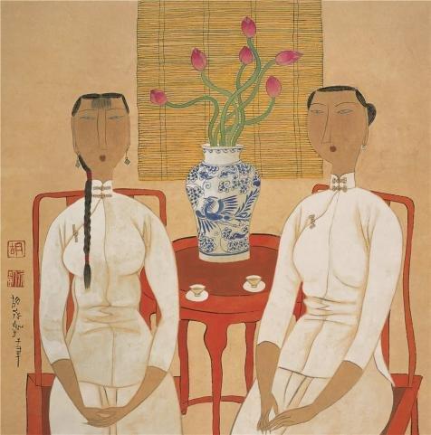 Yongkai Asian Print - 8