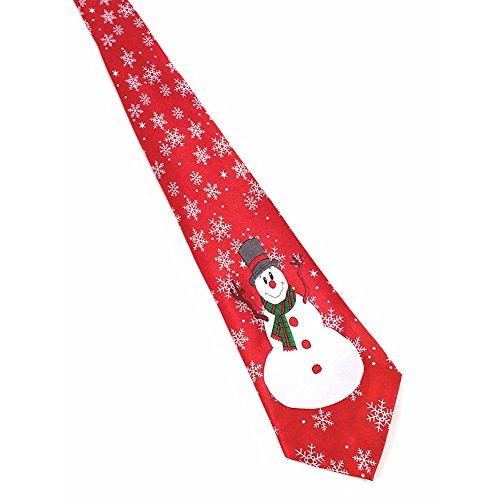 Santa Necktie (EFINNY Men's Boys Christmas Neckties Santa Reindeer Festival Tie Unisex Xmas Tie for Women)