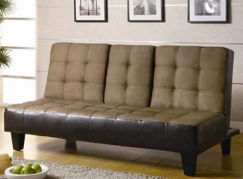 futon-sofa-bed-with-drop-down-console-in-two-tone-finish