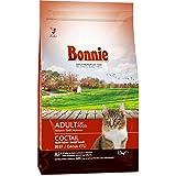 Bonnie Yetişkin Kedi Maması Etli 1,5 Kg Çok Renkli