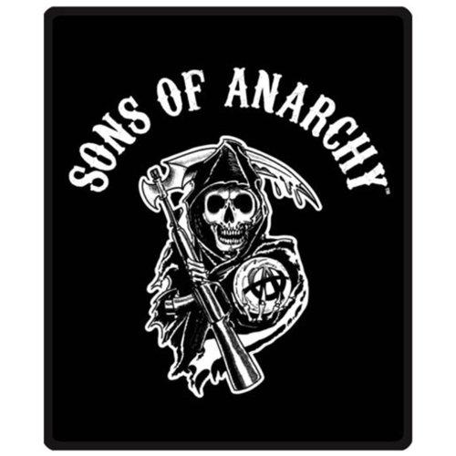 Queen Full Blanket Comforter Sons Of Anarchy Soa Reaper
