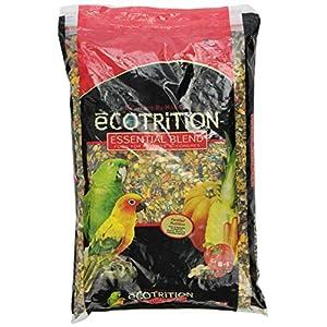 Ecotrition C2136 Essential Blend Diet Bird Food For Parrots, 8-Pound Bag (C2136) 120