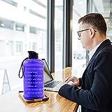 Dishwasher Safe 2.2L Big Sports Water Bottle with